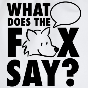 What does the fox say? Magliette - Sacca sportiva