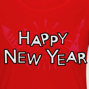 Happy new year T-Shirts - Frauen Premium Langarmshirt