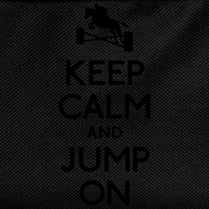 Keep Calm and Jump on T-Shirts - Kinder Rucksack