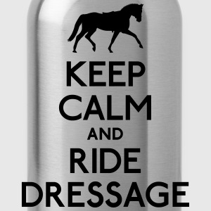 Keep Calm and Ride Dressage T-Shirts - Water Bottle