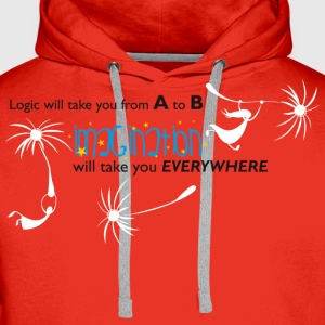 Imagination T-Shirts - Men's Premium Hoodie