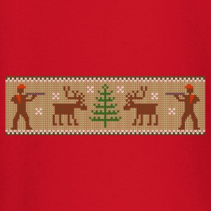 xmas_deer_hunter T-Shirts - Baby Long Sleeve T-Shirt