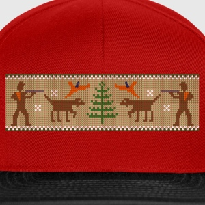 xmas_bird_hunter T-Shirts - Snapback Cap