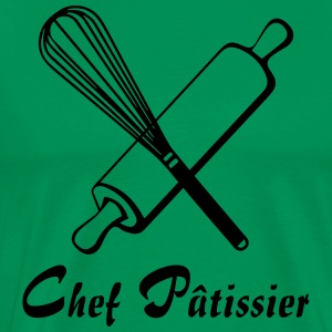 chef patissier Tabliers - T-shirt Premium Homme