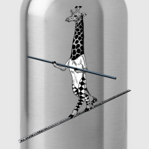 Giraffe Tightrope Walker Shirts - Water Bottle
