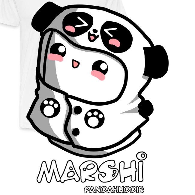 Marshi Panda Hoodie by Chosen Vowels - Shirt Girls