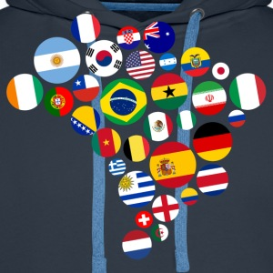 Nations   T-Shirts - Men's Premium Hoodie
