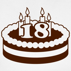 18 Happy Birthday Cake T-shirts - Baseballkasket