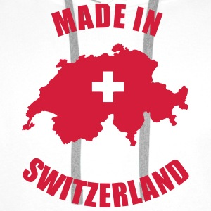Made in Switzerland T-Shirts - Men's Premium Hoodie