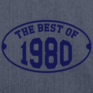The Best of 1980 T-Shirts - Schultertasche aus Recycling-Material