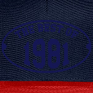 The Best of 1981 T-Shirts - Snapback Cap