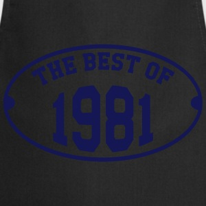 The Best of 1981 T-Shirts - Kochschürze