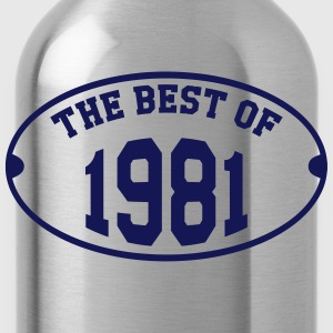 The Best of 1981 T-Shirts - Water Bottle