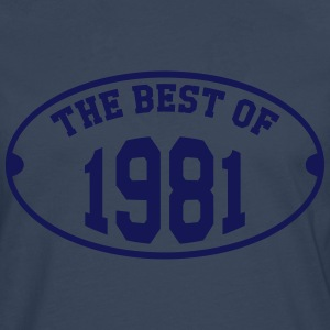 The Best of 1981 T-shirts - Mannen Premium shirt met lange mouwen