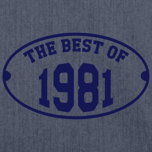 The Best of 1981 T-Shirts - Schultertasche aus Recycling-Material