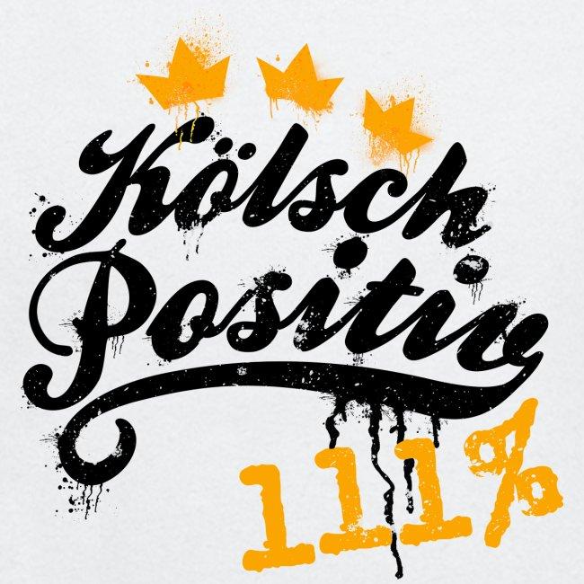KölschPositiv 111% Graffiti-Logo