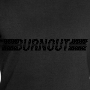 Tires Burnout  T-Shirts - Men's Sweatshirt by Stanley & Stella