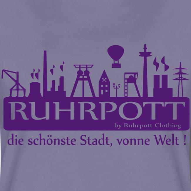 Ruhrpott die schönste Stadt, vonne Welt! - Frauen Hoodie
