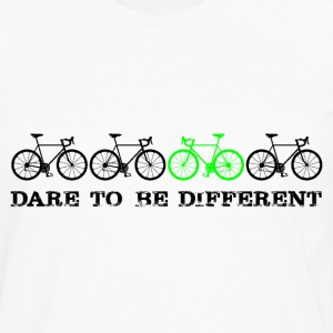 Dare to be different (schwarz) T-Shirts - Männer Premium Langarmshirt