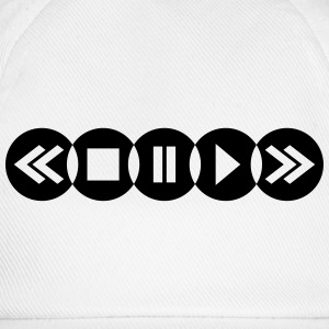 Music Player Logo Tee shirts - Casquette classique