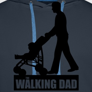 Walking Dad T-Shirts - Männer Premium Hoodie