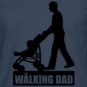 Walking Dad T-Shirts - Männer Premium Langarmshirt