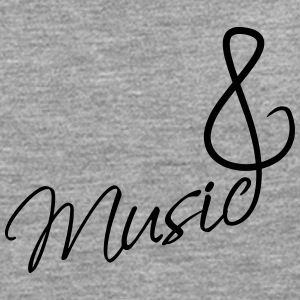Music Clef Tee shirts - T-shirt manches longues Premium Homme