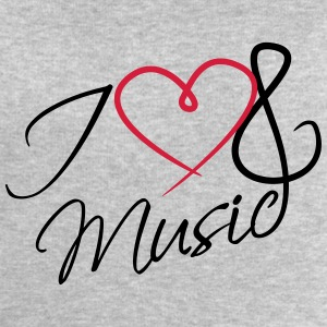 I Love Music Clef Tee shirts - Sweat-shirt Homme Stanley & Stella
