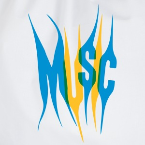 Music Design T-shirts - Gymnastikpåse