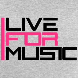 Live For Music Logo Tee shirts - Sweat-shirt Homme Stanley & Stella