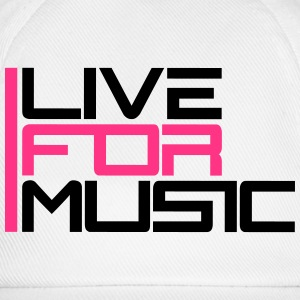 Live For Music Logo Tee shirts - Casquette classique