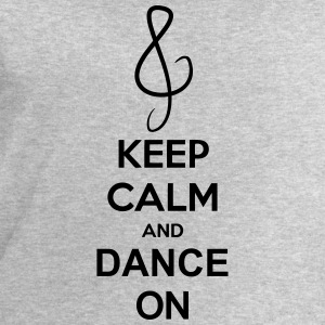 Keep Calm And Dance On Music Clef Camisetas - Sudadera hombre de Stanley & Stella
