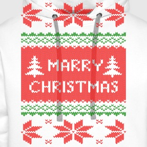 marry christmas knit T-Shirts - Men's Premium Hoodie