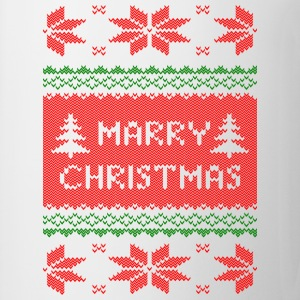marry christmas strick T-Shirts - Tasse