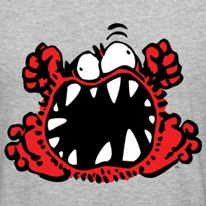 Petit Monstre en Colère by Cheerful Madness!! Sweat-shirts - Tee shirt près du corps Homme