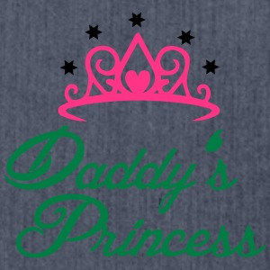 Daddys Princess T-Shirts - Schultertasche aus Recycling-Material
