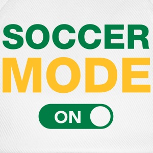 Soccer Mode (On) T-shirts - Basebollkeps
