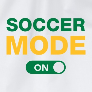 Soccer Mode (On) T-Shirts - Drawstring Bag