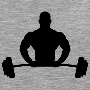 Bodybuilder Logo T-Shirts - Men's Premium Longsleeve Shirt