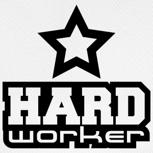 Hard Worker Star T-shirts - Baseballcap