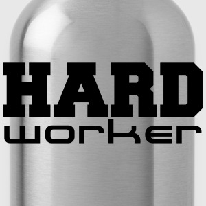 Hard Worker T-Shirts - Trinkflasche