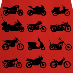 Motos types  Tee shirts - Tablier de cuisine