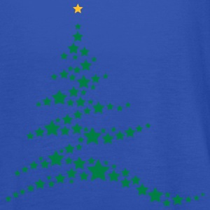 Christmas tree made ​​of stars  T-Shirts - Women's Tank Top by Bella