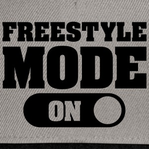 Freestyle Mode (On) Pullover & Hoodies - Snapback Cap