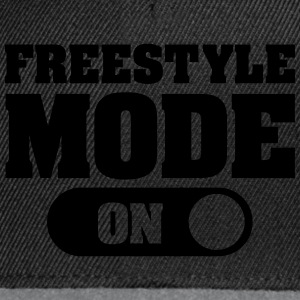 Freestyle Mode (On) Sweat-shirts - Casquette snapback