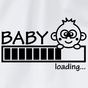 Baby Is Loading Girl T-shirts - Gymtas