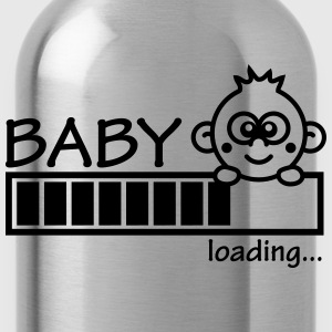Baby Is Loading Girl Magliette - Borraccia