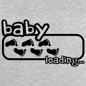 Baby Boy Is Loading Logo T-shirts - Sweatshirt herr från Stanley & Stella