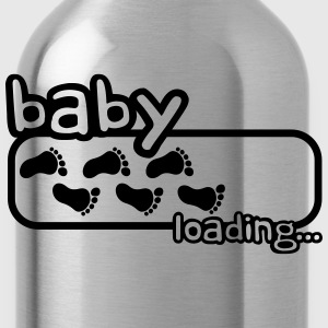 Baby Boy Is Loading Logo T-Shirts - Trinkflasche