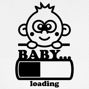 Baby Loading Bar T-shirts - Baseballcap